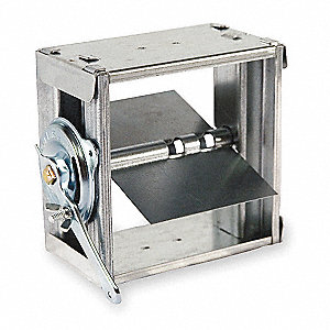 Balancing Damper,Square,8 x 8 In