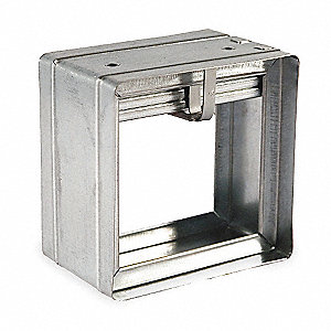 Square Fire Damper,23-3/4 In. W