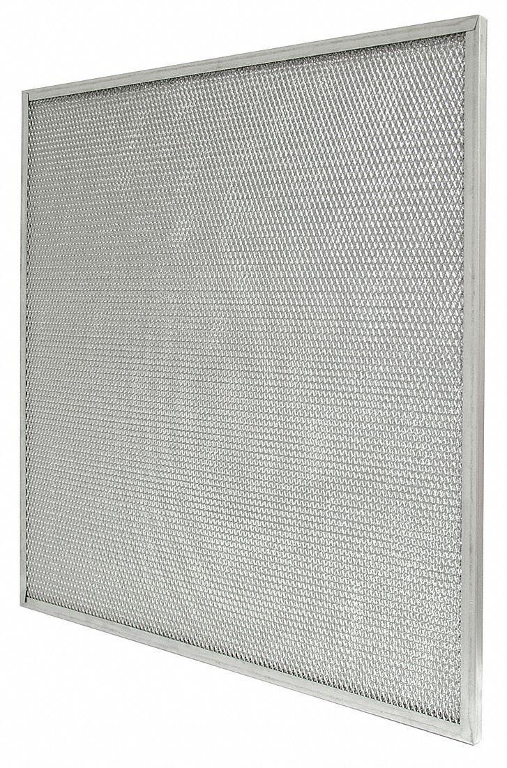 AIR HANDLER 24x24x2 Aluminum Mesh Mesh Filter - 2TJ11 2TJ11 - Grainger