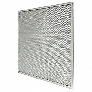 20x20x2,Mesh Filter, Galvanized Steel