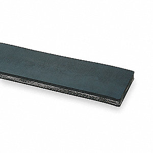 Conveyor Belt,3 Ply 330,Black,W 42 In
