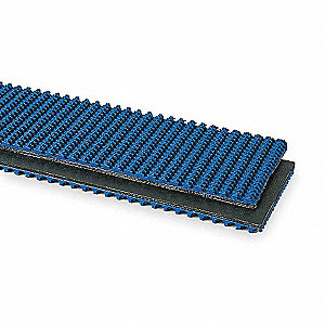 Conveyor Belt,Blue Nitrile,50Ft x 18In