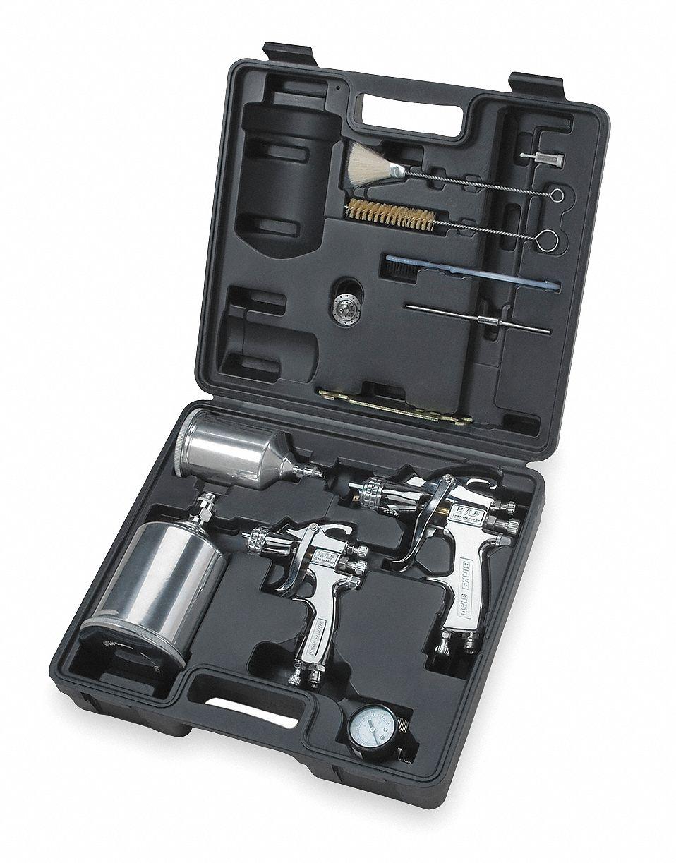 Hvlp Spray Gun Kit >> 12 0 Cfm 30 Psi Hvlp Spray Gun Kit For Use With Gravity Cup