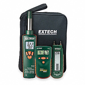 Water Damage Restoration Kit, Test Instrument Included: Hygro Thermometer, Moisture Meter