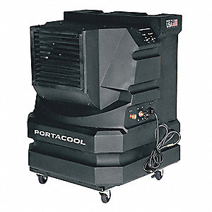 Portable Evaporative Cooler,2400/3000cfm