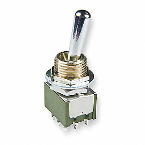 Toggle Switch,3PDT,3A @ 250V,Solder Lug