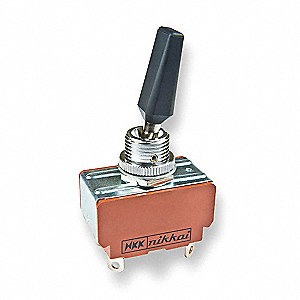 Toggle Switch, Number of Connections: 4, Switch Function: On/Off, 25A @ 125/250VAC AC Contact Rating