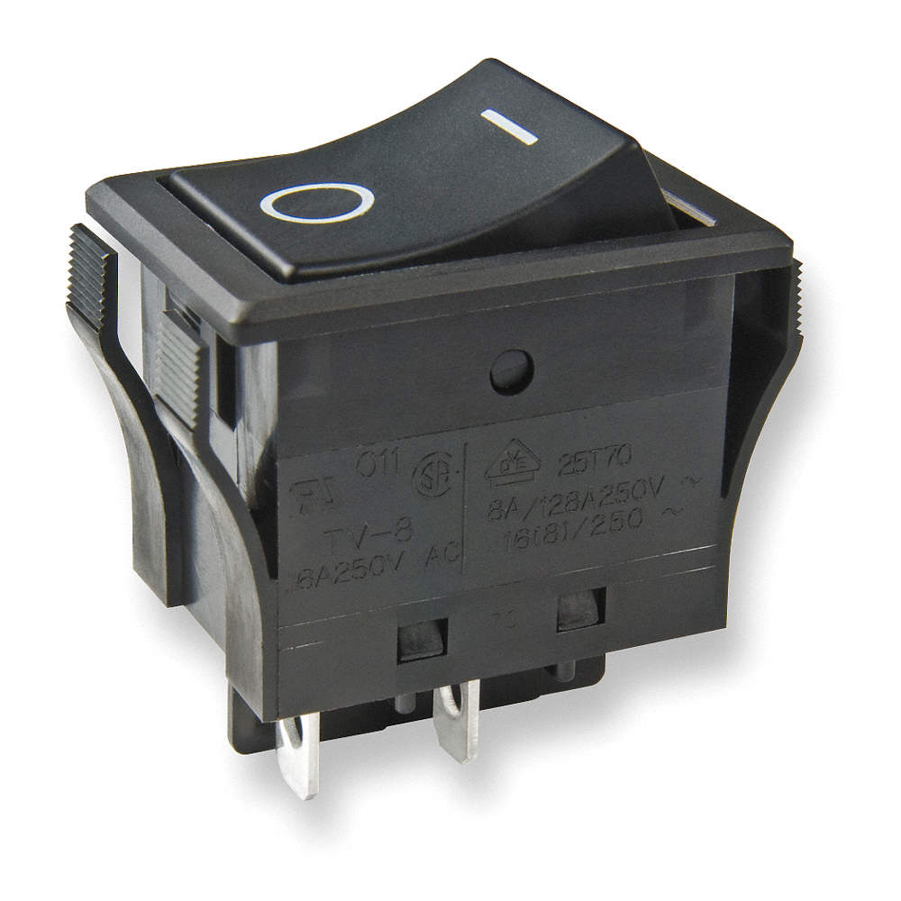 Rocker Switch 4 Connections DPST