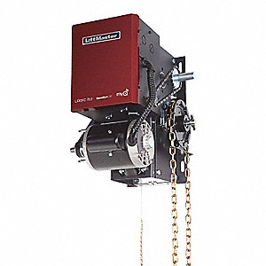 Indusl Door Opener,Hoist/Left,Max H 24Ft