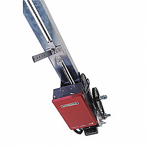 Indusl Door Opener,Trolley,Max H 24Ft