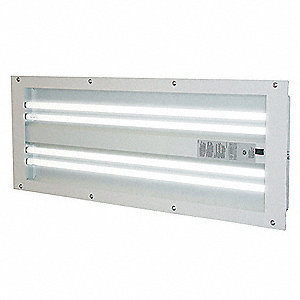120/277 VAC Paint Booth Light Fixture, 32 Watts
