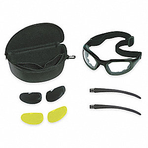 Anti-Fog Goggle Kit, Clear/Gray/Amber Lens Color