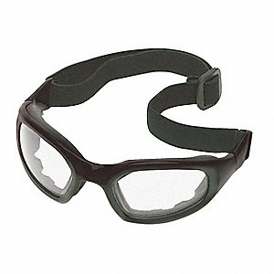 Anti-Fog Impact/Dust Resistant Goggle, Clear Lens Color