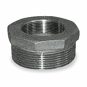 "316 Stainless Steel Hex Bushing, MNPT x FNPT, 2-1/2"" x 2"" Pipe Size (Fittings)"