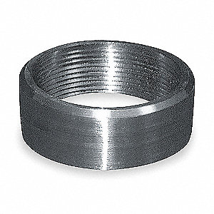 "316 Stainless Steel Half Coupling, FNPT, 4"" Pipe Size (Fittings)"