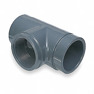 "PVC Tee, 1"" Pipe Size (Fittings)"