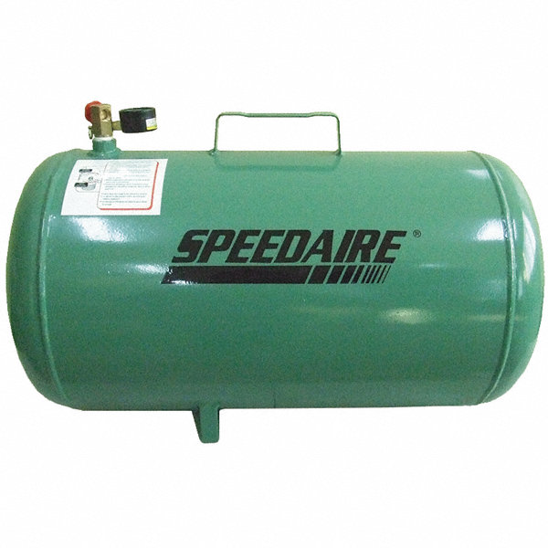 Speedaire Steel Air Carry Tank Green Powder Coated