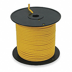 Portable Cord, 10 AWG Wire Size, Number of Conductors: 3, 250 ft. Spool Length