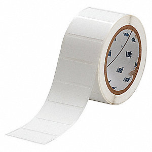 "White, 3000 Labels per Roll H x 2"" W, 1 EA"
