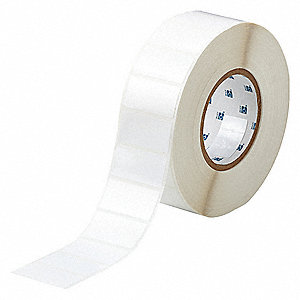 "White, 3000 Labels per Roll  1"" H x 2"" W, 1 EA"