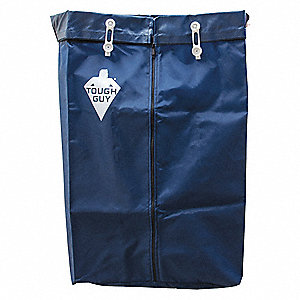 Navy Blue Nylon Replacement Bag, 1 EA