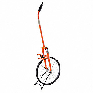Measuring Wheel,Pro,4 Ft,Spoked,99,999Ft