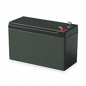 "12VDC Sealed Lead Acid Battery, 8.5Ah, 0.187"" Faston"