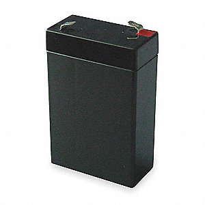 ABS Battery, Voltage 6, Battery Capacity 2.8Ah, Bolt Terminal Type