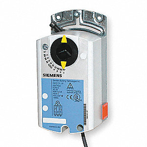 24VAC Floating Electric Actuator, -25° to 130°F, 44 in.-lb., 90 sec., Includes: Mounting Bracket Scr