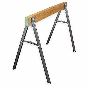 Sawhorse Legs,Steel,21 In,PK 2