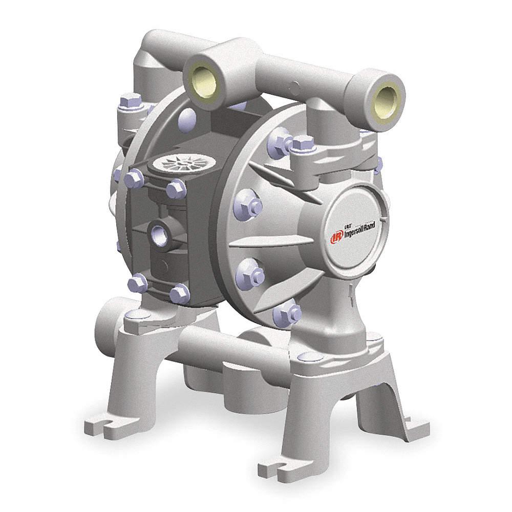 Aro aluminum ptfe single double diaphragm pump 14 gpm 100 psi using 360 viewing ccuart Choice Image