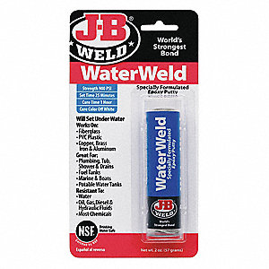 Epoxy Adhesive,Underwater,2 oz,Stick