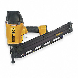 Air Framing Nailer,Offset Rnd,28 Deg,Wre