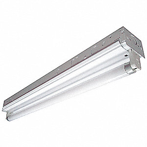 Channel Strip Fluorescent Fixture,F17T8