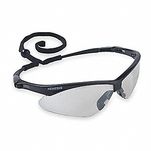 Jackson Safety V30 Nemesis Scratch-Resistant Safety Glasses, Indoor/Outdoor Lens Color