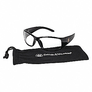 Smith & Wesson® Elite Anti-Fog, Scratch-Resistant Safety Glasses, Clear Lens Color