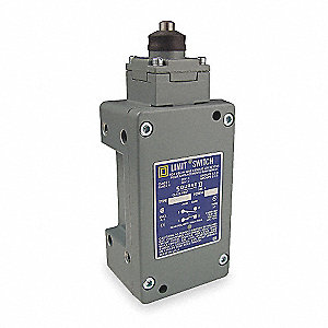 Wobble Stick Hazardous Location Limit Switch; Location: Top, Contact Form: 2NC/2NO, Vertical Movemen