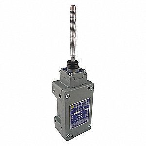 Wobble Stick Hazardous Location Limit Switch; Location: Top, Contact Form: 2NC/2NO, Any Direction Mo
