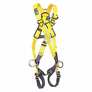Delta™ Crossover Harness with 420 lb. Weight Capacity, Yellow, Universal