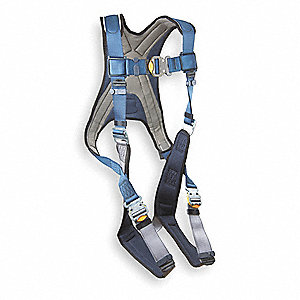 ExoFit™ Full Body Harness with 420 lb. Weight Capacity, Blue/Gray, S