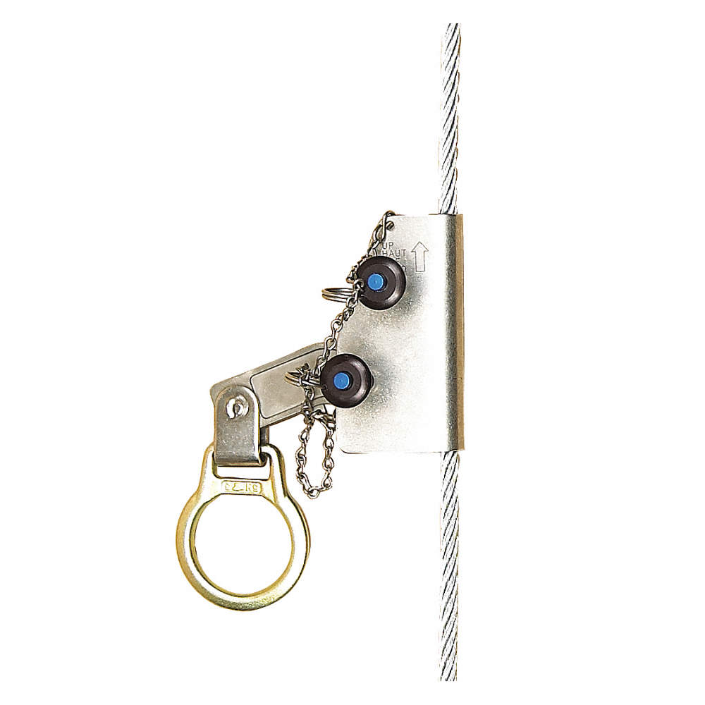 3M DBI-SALA Rope Grab, Steel Cable, Size Fits 3/8 In. - 2UZY3 ...