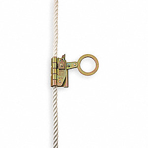 Rope Grab,Steel,Size Fits 5/8 In.