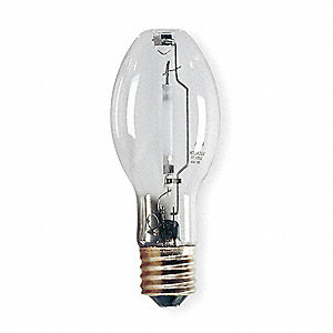 50 Watts High Pressure Sodium HID Lamp, ED23-1/2, Mogul Screw (E39), 4000 Lumens