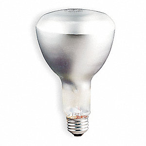 50 Watts Incandescent Lamp, ER30, Medium Screw (E26), 525 Lumens, 2500K Bulb Color Temp.