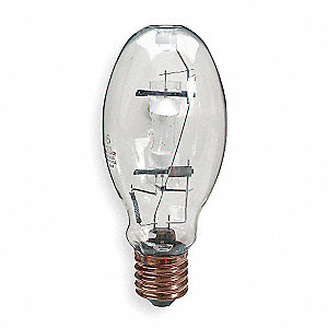 250 Watts Metal Halide HID Lamp, ED28, Mogul Screw (E39), 4200K Bulb Color Temp.