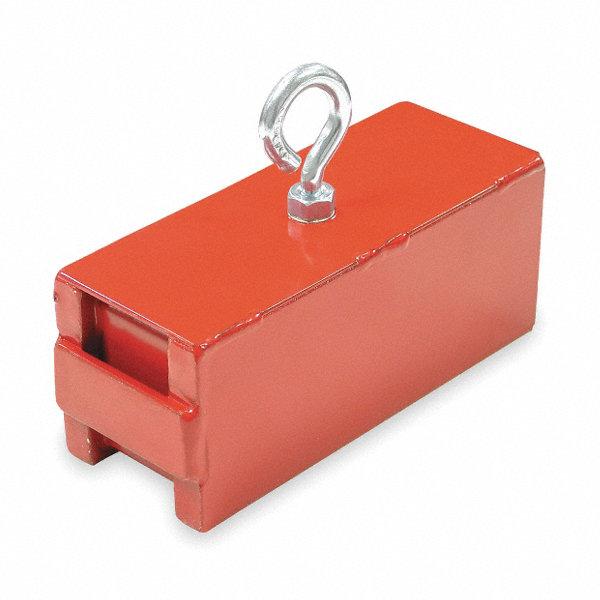 grainger approved lifting retrieving magnet 225 lb pull