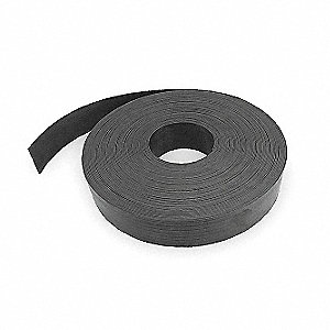 Magnetic Strip,100 ft. L,2 In W