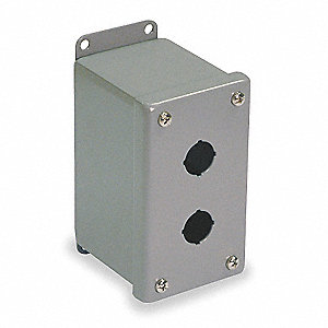 Pushbutton Enclosure, 12, 13 NEMA Rating, Number of Columns: 1