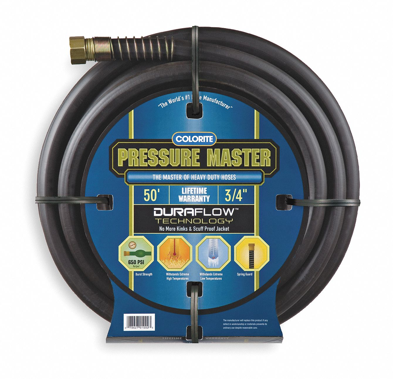 colorite water hose rubber rsin 5 8 in id 50 ft l 2vcy8