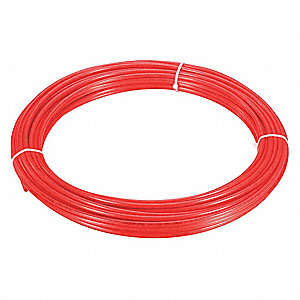 "100 ft. Red Nylon Tubing, 1/4"" Outside Dia., 11/64"" Inside Dia."